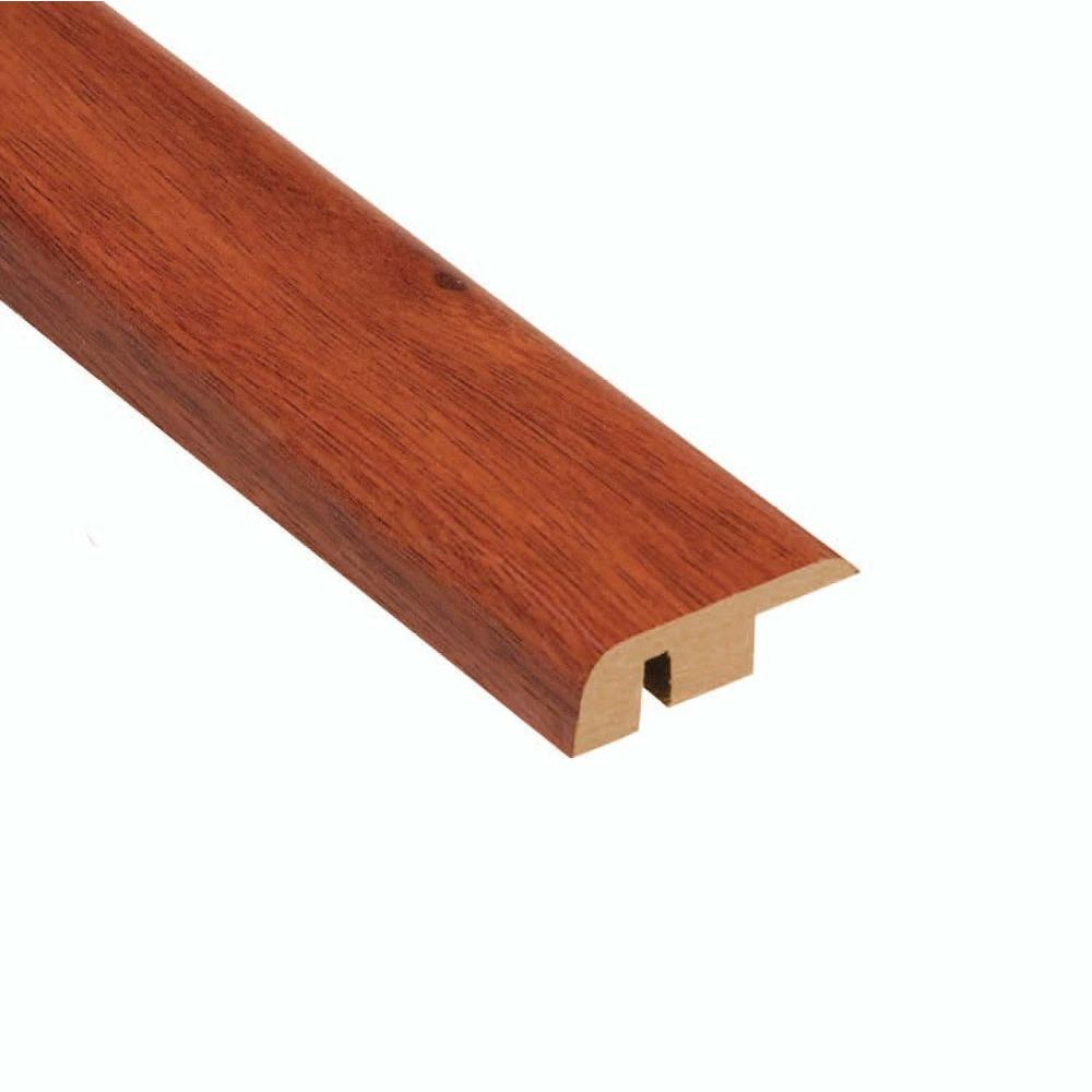 High Gloss Santos Mahogany 1/2 in. Thick x 1-1/4 in. Wide