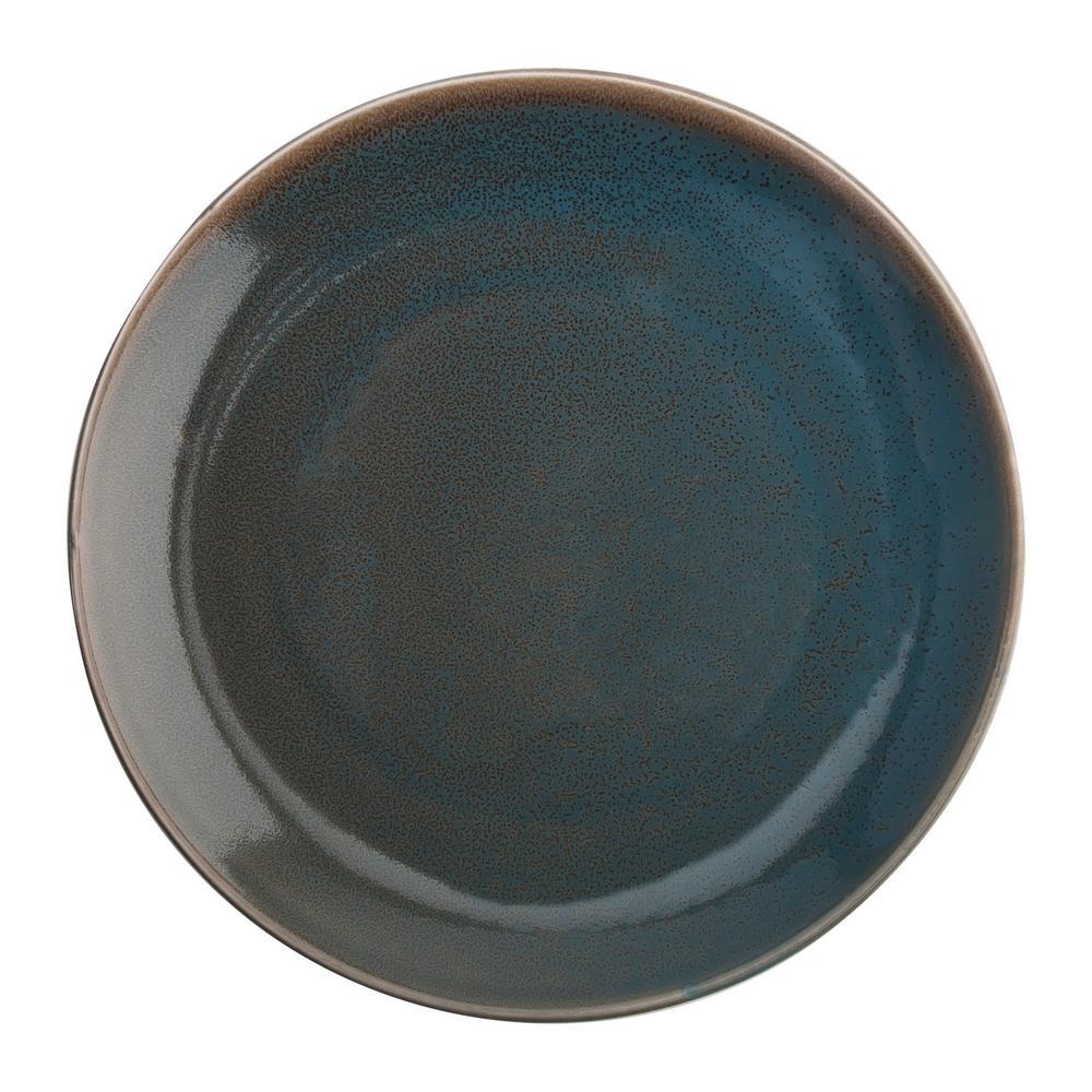 Oneida 11 In Dusk Porcelain Plates Set Of 18 F1493020155 The Home Depot