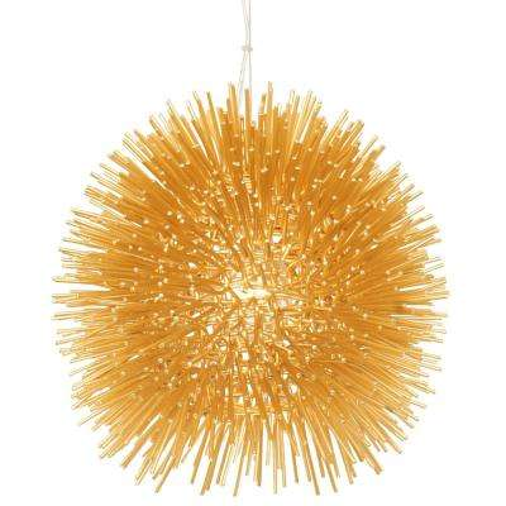 Urchin 1-Light Gold Mini Pendant