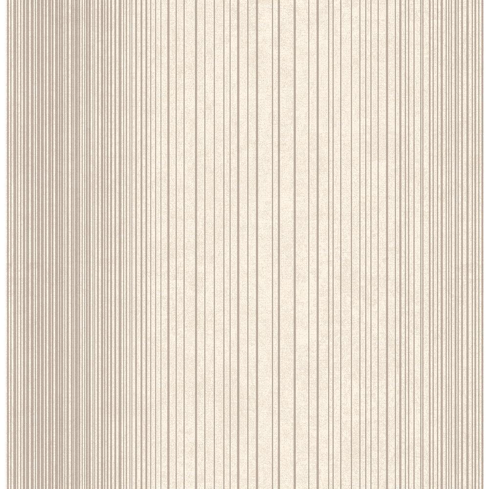 Brewster Insight Cream Stripe Wallpaper Sample 2662-001907SAM