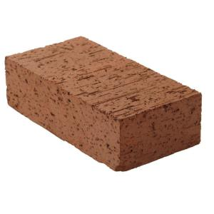 8 In X 2 1 4 In X 4 In Clay Brick Red0126mco The Home