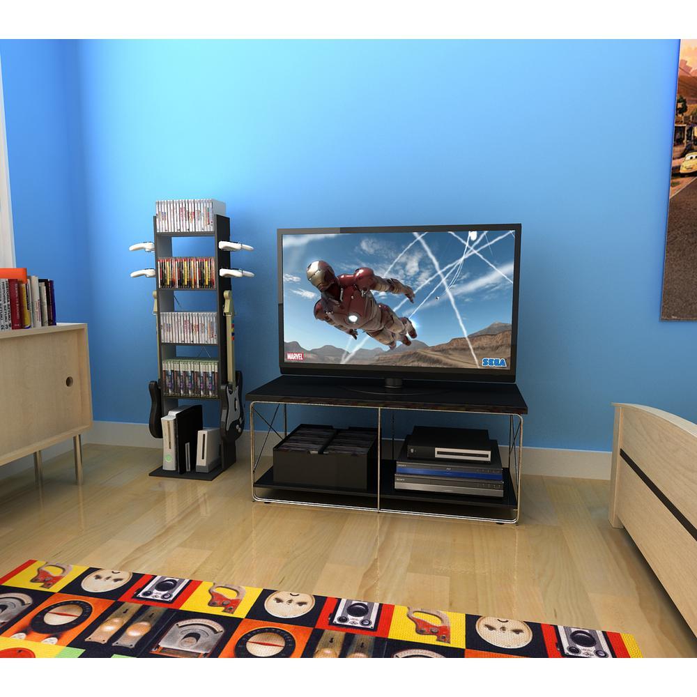 Game Central Black Media Storage