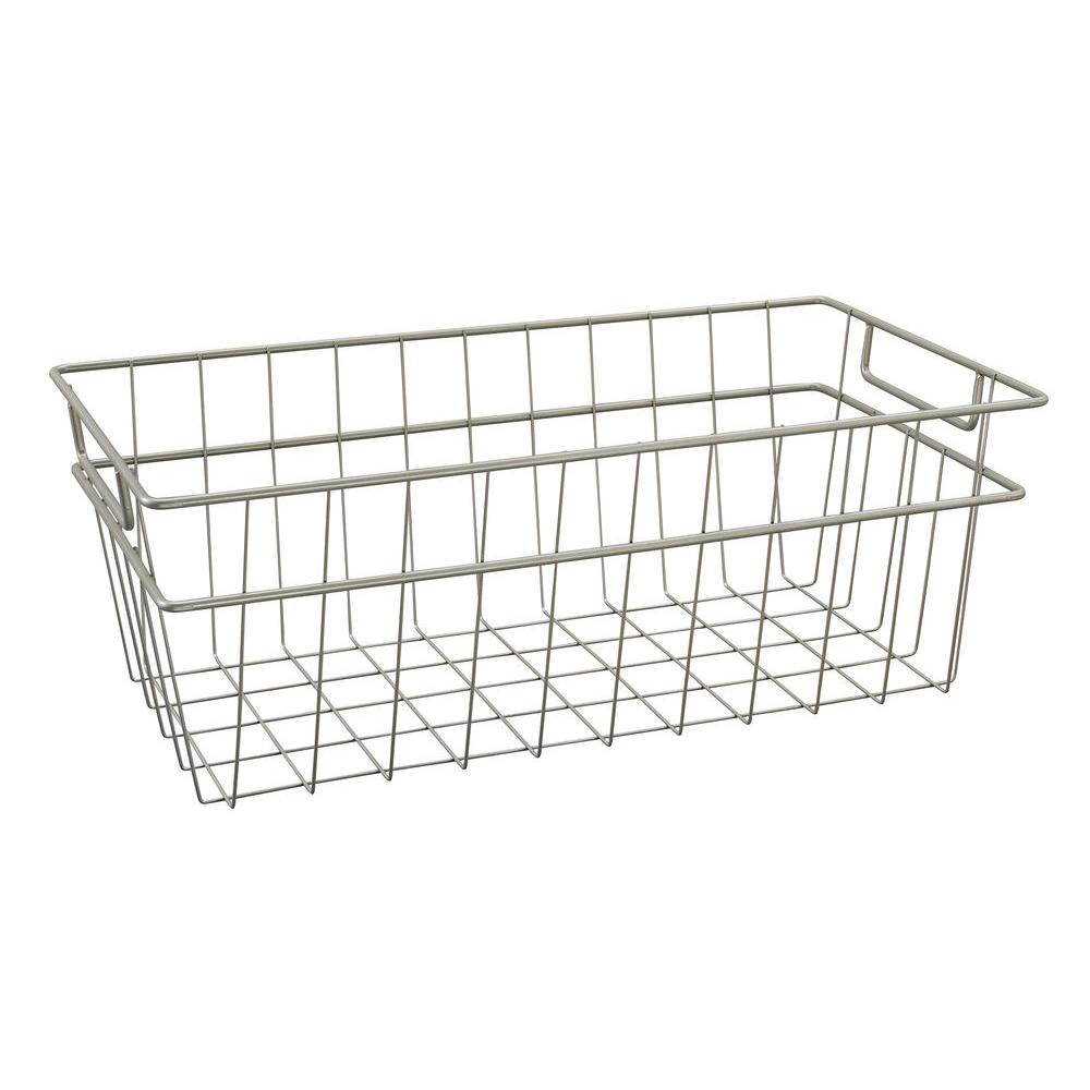 Superieur ClosetMaid 8.5 In. X 7.5 In. Large Wire Basket In Nickel