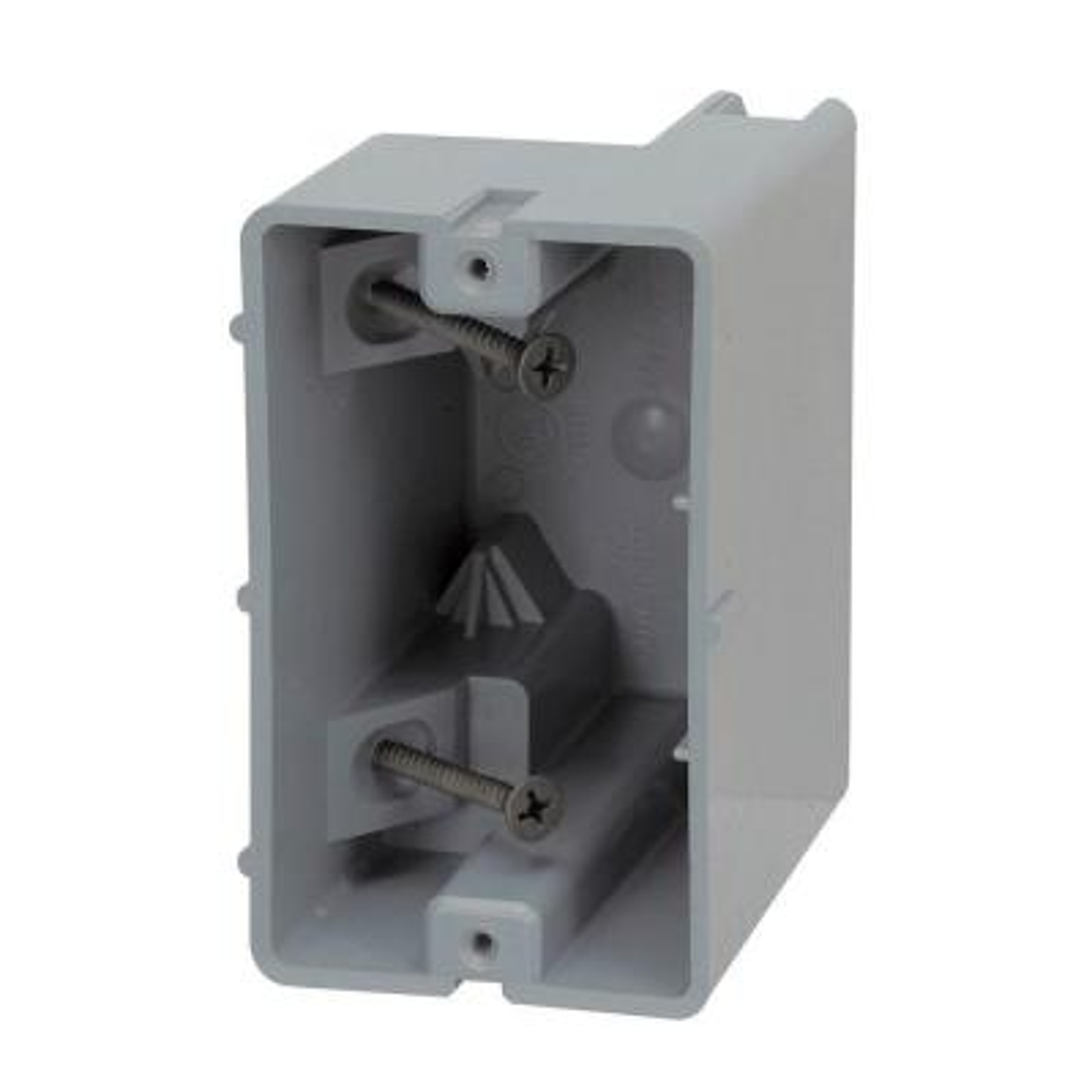 Smart Box 1-Gang Adjustable Depth Device Box