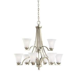 Sea Gull Lighting Somerton 9-Light Antique Brushed Nickel Chandelier with LED... by Sea Gull Lighting