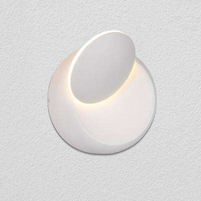 Eclipse 5.5 in. White Integrated LED Sconce