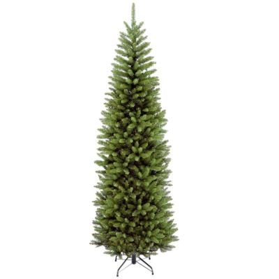 7 ft. Kingswood Fir Pencil Hinged Artificial Christmas Tree