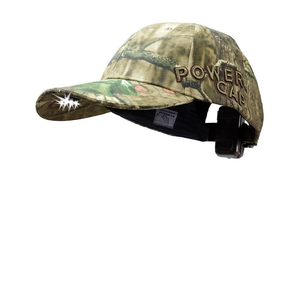 b01092028e443 Panther Vision POWERCAP LED Hat EXP 100 Ultra-Bright Hands Free Lighted  Battery Powered Mossy
