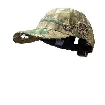 POWERCAP LED Hat EXP 100 Ultra-Bright Hands Free Lighted Battery Powered Mossy Oak Infinity