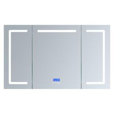 Lesina 60 in. W. x 36 in. H. Recessed or Surface-Mount LED Medicine Cabinet with Defogger