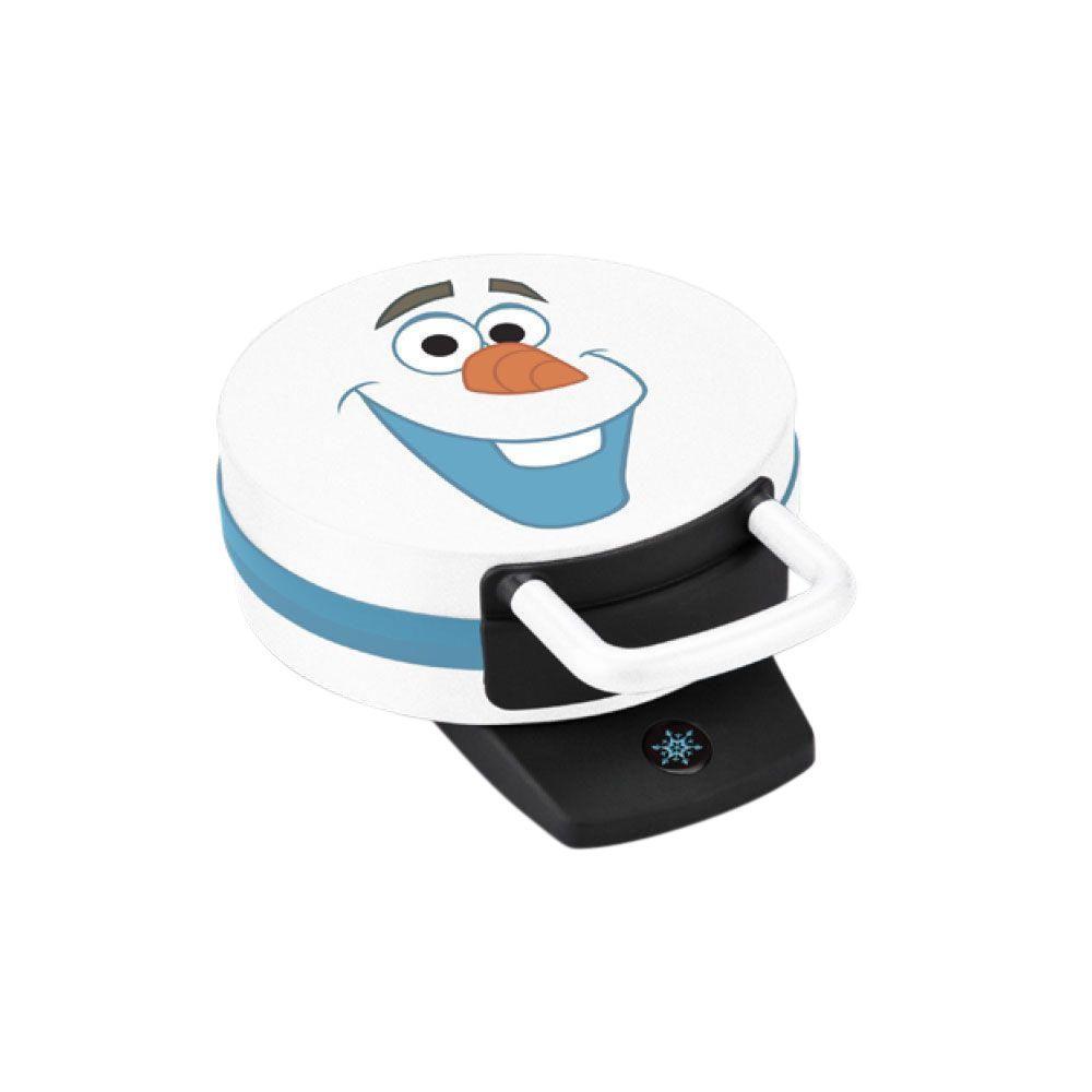 Disney Frozen Olaf Waffle Maker, White & Blue