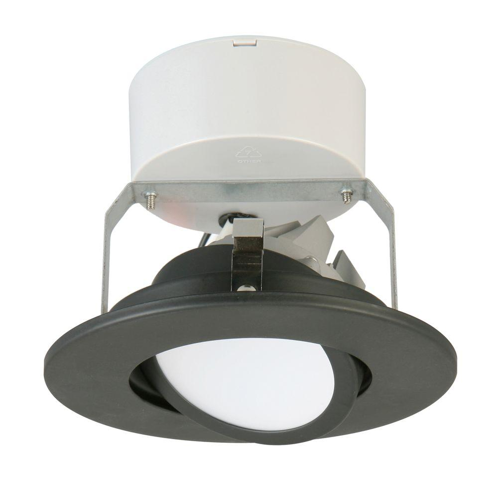 Lithonia Lighting 3 25 In 3000k New Construction Or Remodel Recessed Integrated Led Kit