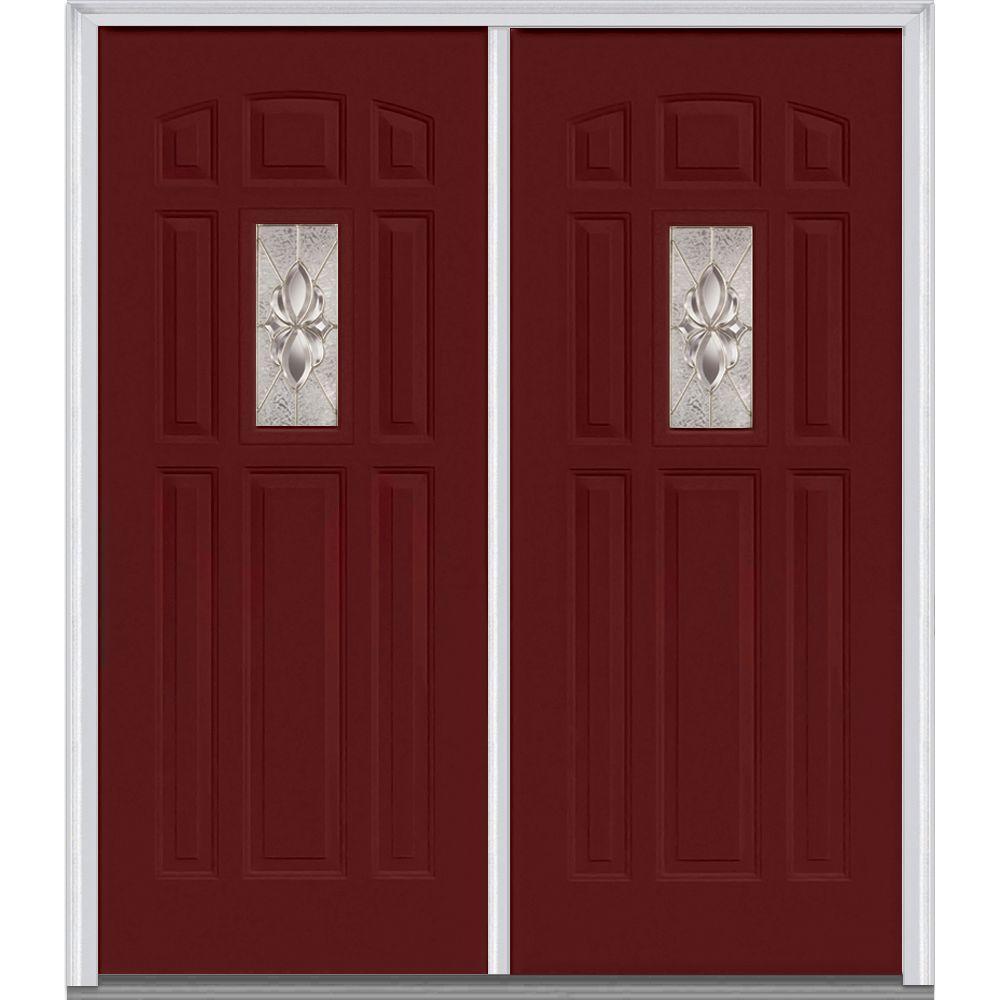 Red - 72 x 80 - Double Door - Doors With Glass - Steel Doors - The ...