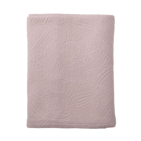 The Company Store Hillcrest Matelasse Dusty Lilac King Coverlet 50172Q-K-DUSTY-LILAC