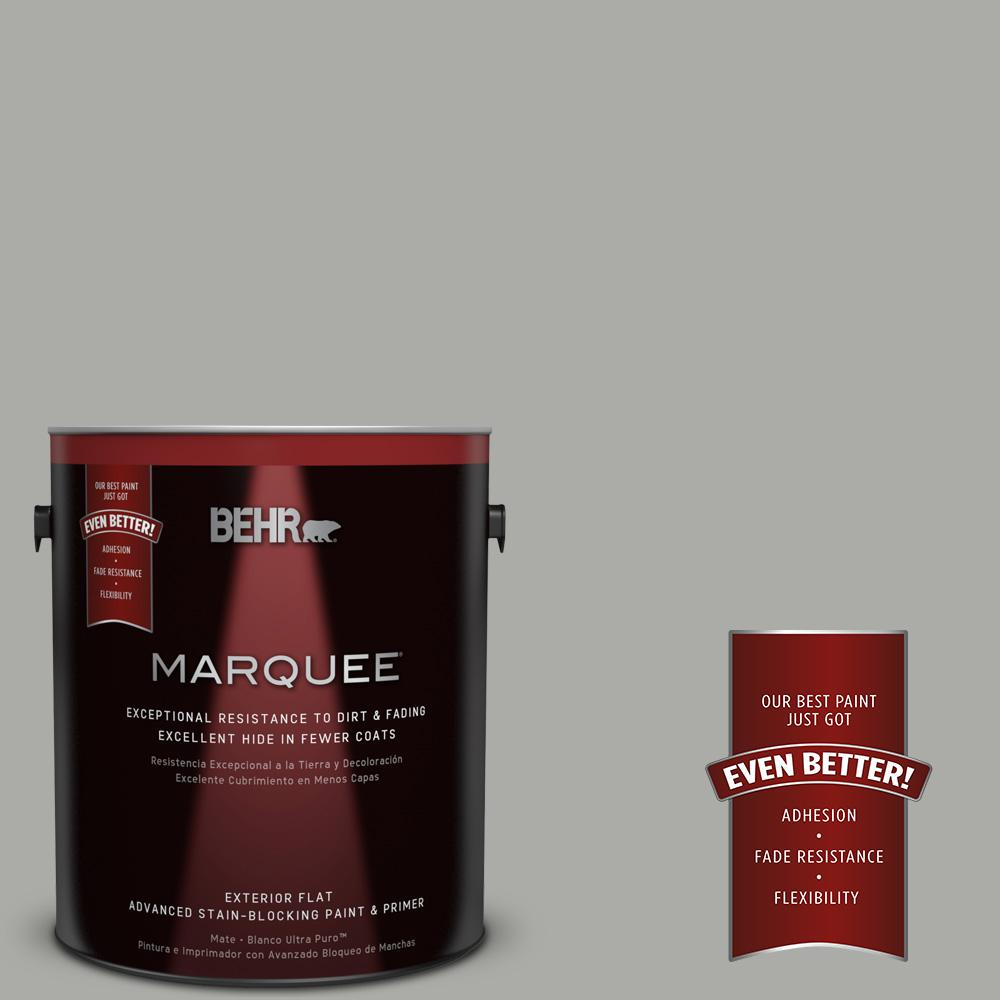 BEHR MARQUEE 1-gal. #PPF-39 Cool Granite Flat Exterior Paint