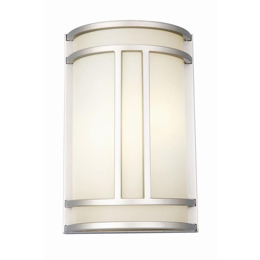 Easton 2-Light Satin Nickel ADA Sconce