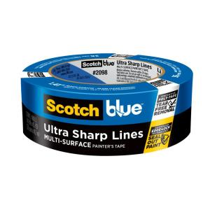 ScotchBlue 1.41 in. x 45 yds. Ultra Sharp Lines Multi-Surface Painter's Tape