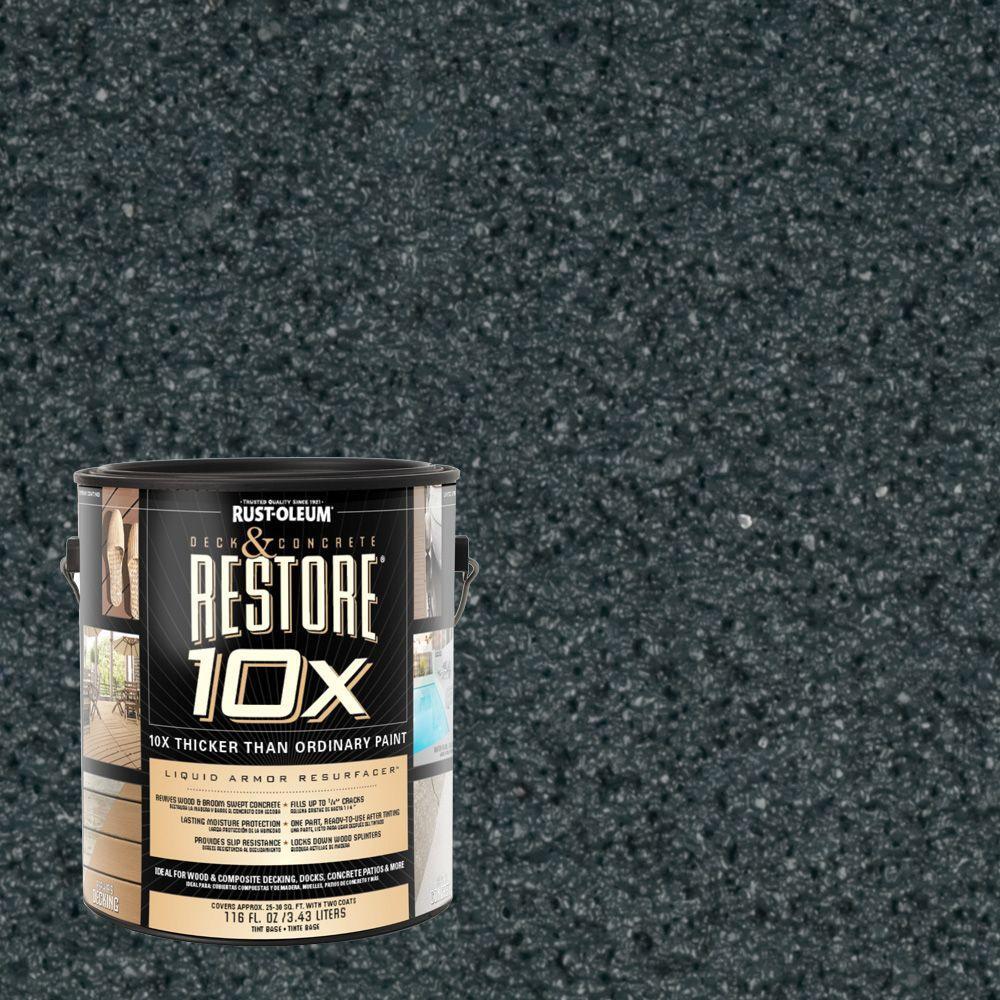 Rust-Oleum Restore 1-gal. Cobalt Deck and Concrete 10X Resurfacer
