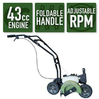 Earth Series 2-Cycle 43cc Gas Edger with Recoil Start