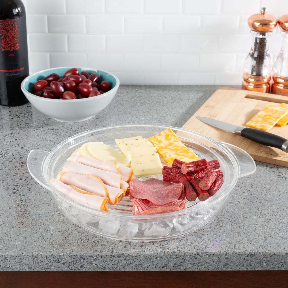 Cold Veggie Tray Serving Platter