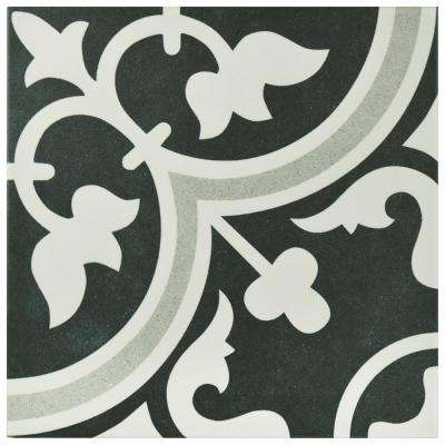 Arte Due Encaustic 9-3/4 in. x 9-3/4 in. Porcelain Floor and Wall Tile (10.76 sq. ft. / case)