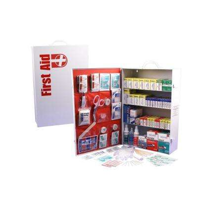 1110-Piece 4 Shelf OSHA/ANSI First Aid Cabinet