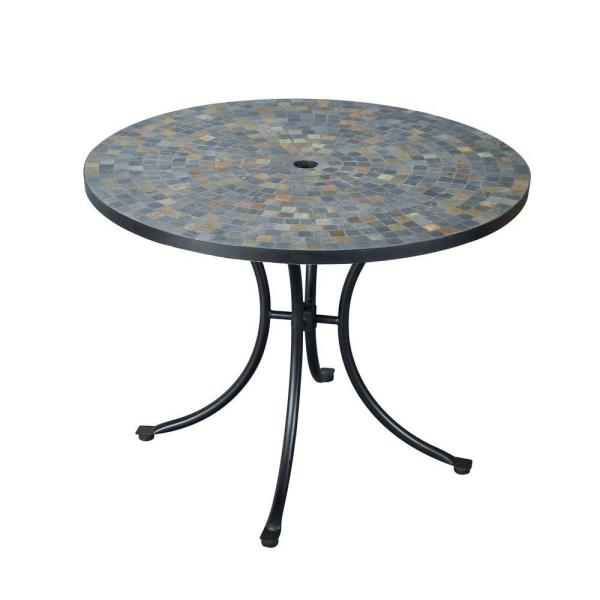 Yard Garden Outdoor Living Items 24 Patio Furniture Glass Top Round Table Steel Frame Dining - Replacing Glass Outdoor Table Top