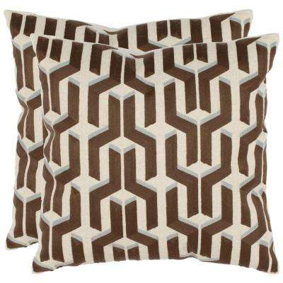 Texola Embroidered Pillow (2-Pack)