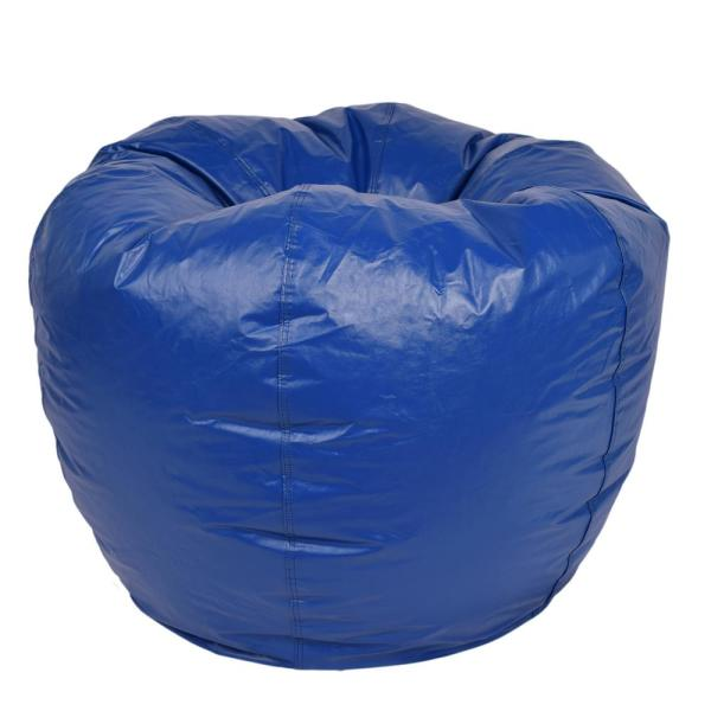 Ace Casual Furniture Blue Vinyl Bean Bag 1322001