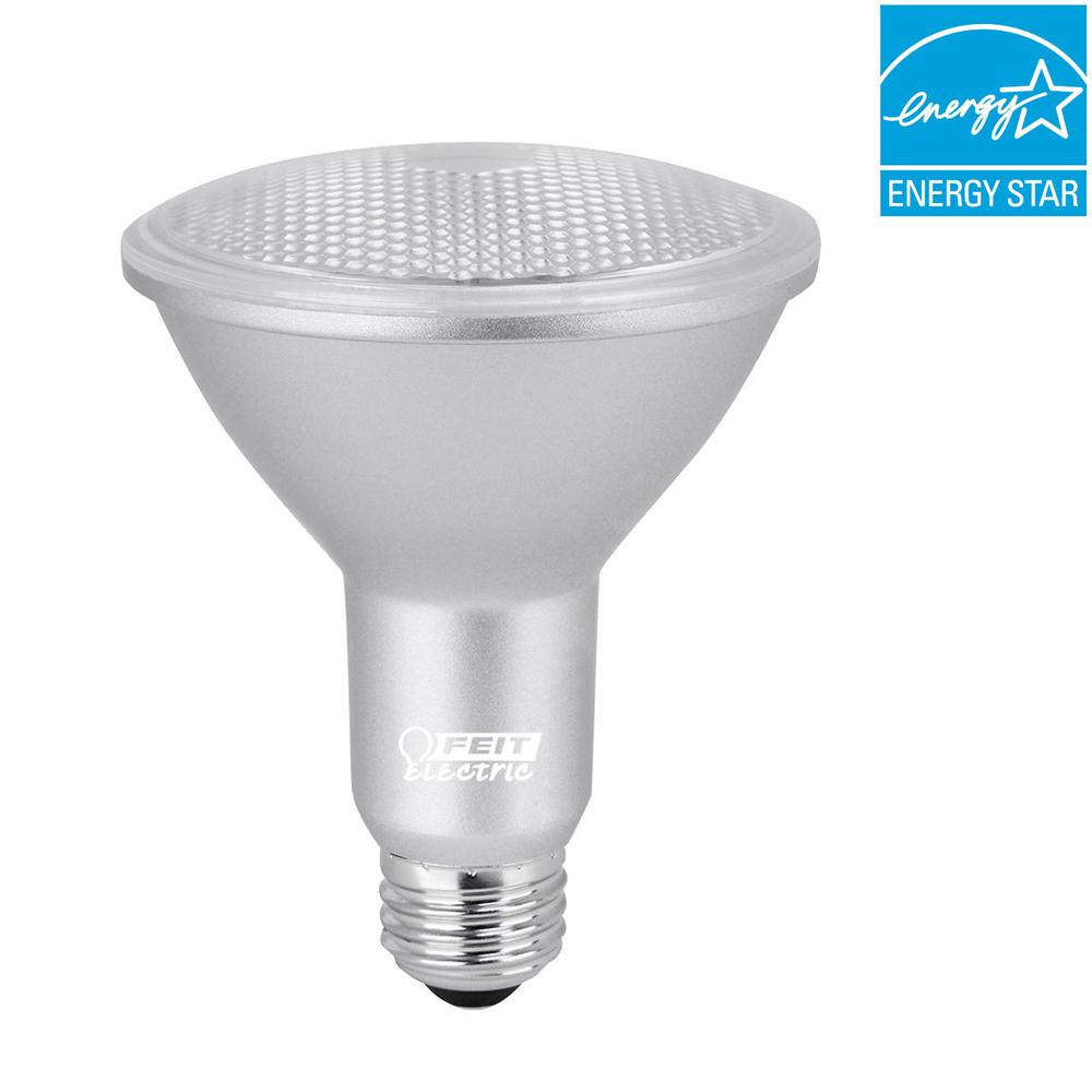 75W Equivalent Warm White (3000K) PAR30L Dimmable LED 90+ CRI Light