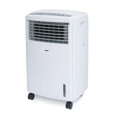 476 CFM 3-Speed Portable Evaporative Air Cooler with Ultrasonic Humidifier for 250 sq. ft.