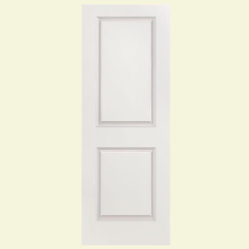 Masonite 24 In X 80 In Primed 2 Panel Cheyenne Hollow Core Composite Interior Door Slab 65280