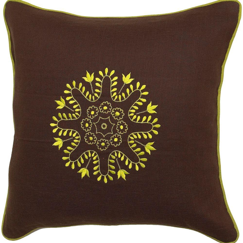 Artistic Weavers Center4 18 in. x 18 in. Decorative Pillow -DISCONTINUED