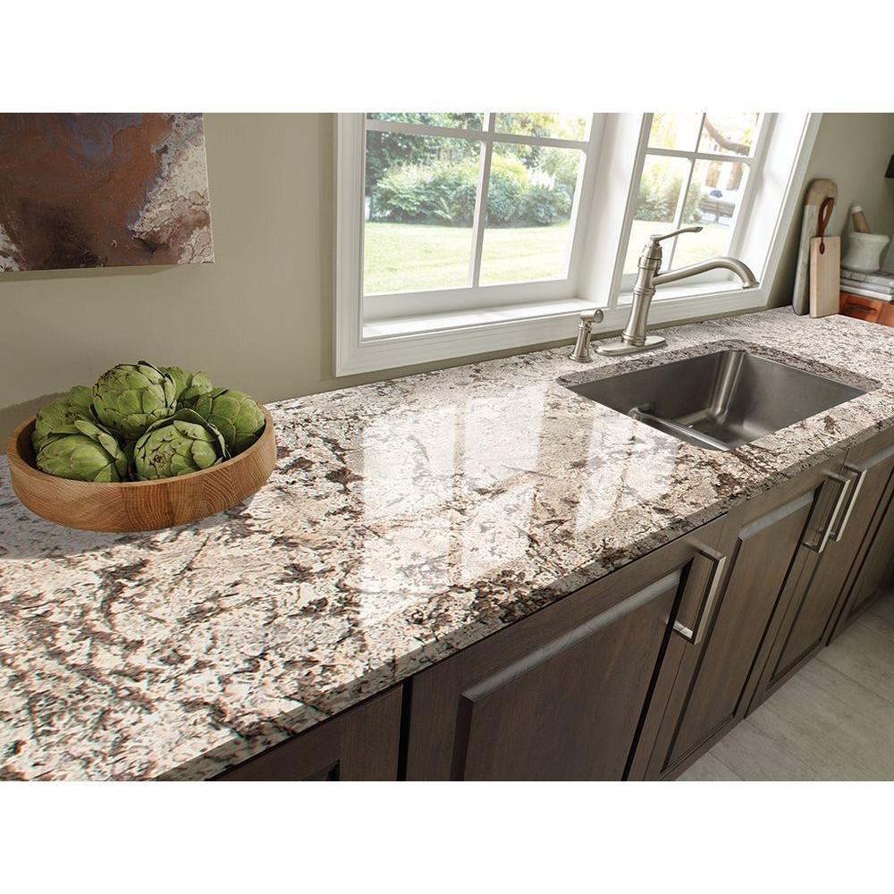 Stonemark 3 In X Granite Countertop Sample Bianco Antico