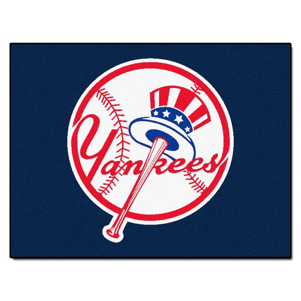 New York Yankees 3 ft. x 4 ft. All-Star Rug