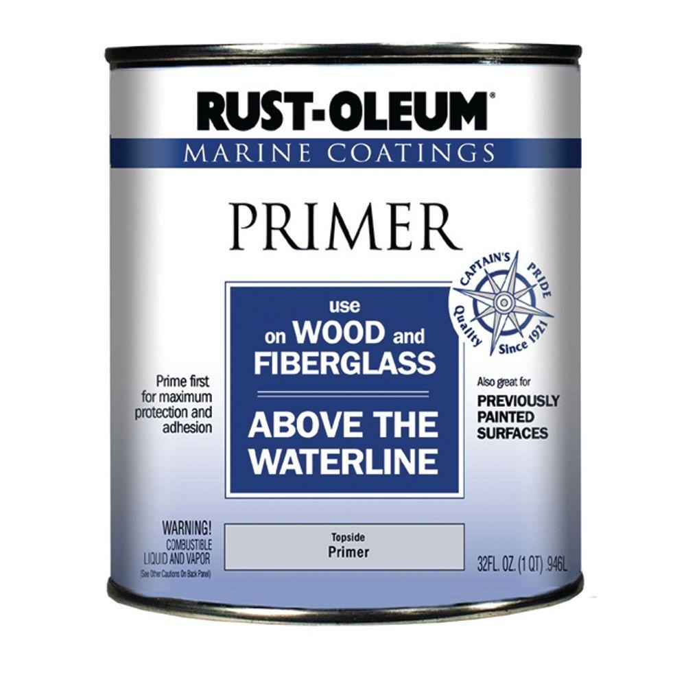 Rust-Oleum 1 Qt. Marine Coatings Primer for Wood and Fiberglass-DISCONTINUED