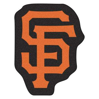 MLB - San Francisco Giants 30 in. x 39.2 in. Indoor Area Rug Mascot Mat