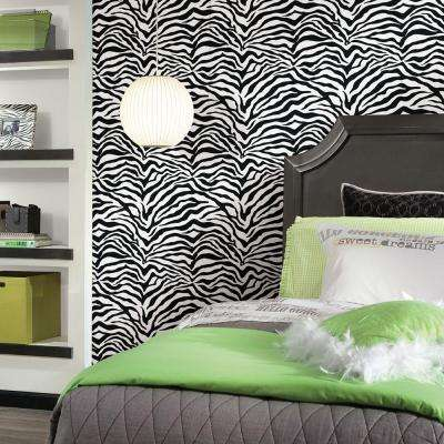 Wall In A Box Zebra Feature Wall