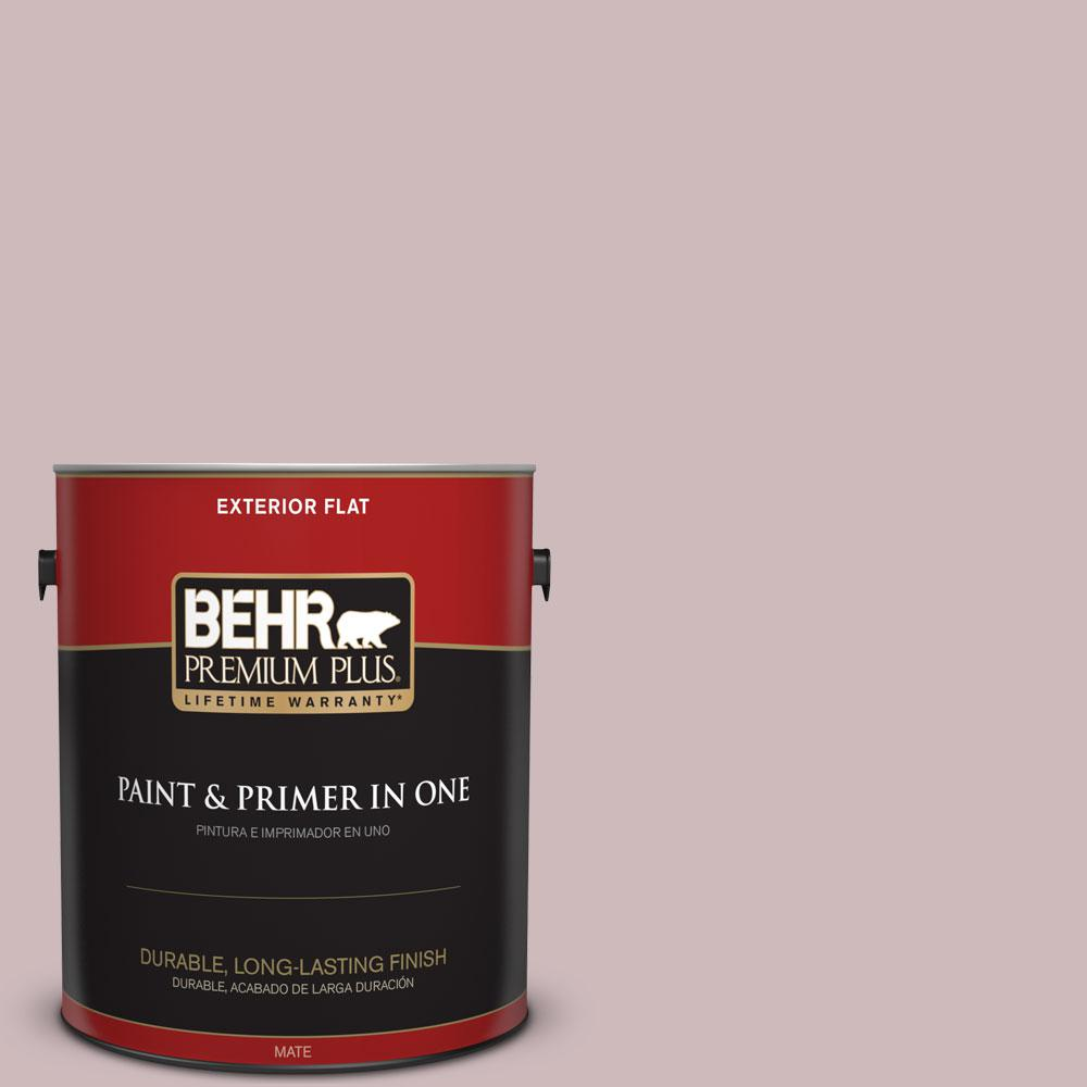 1-gal. #N120-3 Mauve it Flat Exterior Paint
