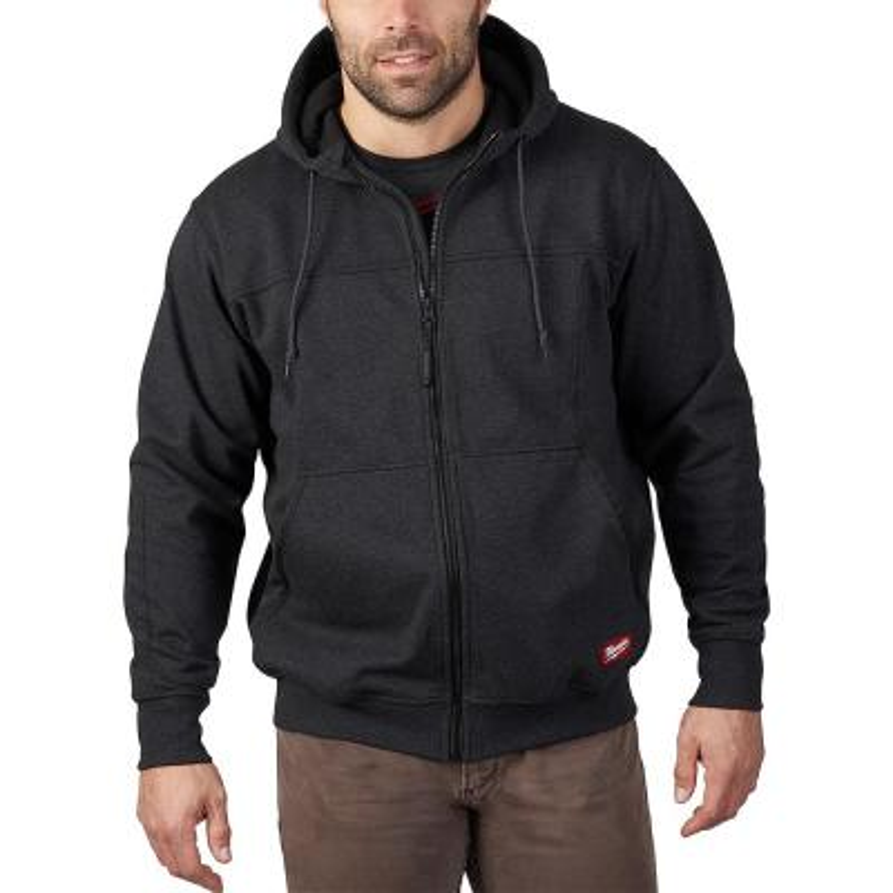 Men's 2X Black No Days Off Hooded Sweatshirt