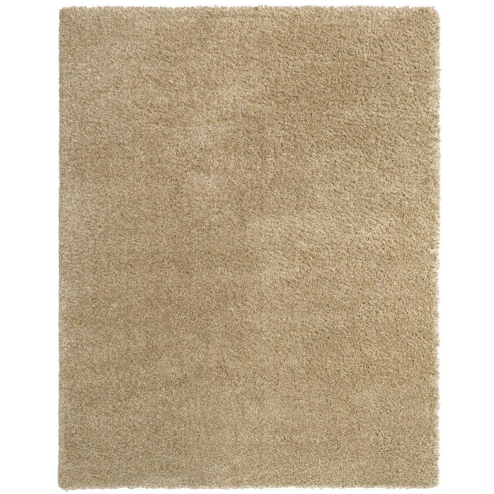 Home Decorators Collection Hanford Shag Light Oak 5 ft. 3 in. x 7 ft. 5 in. Area Rug