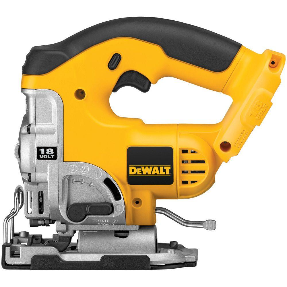DEWALT 18-Volt NiCd Cordless Jig Saw with Keyless Blade Change (Tool-Only)