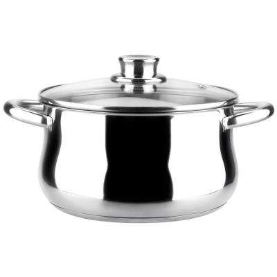 Ideal 4.2 Qt. Stainless Steel Casserole with Lid