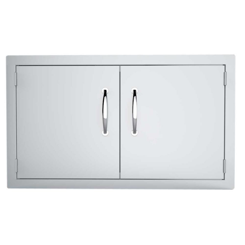 Classic Series 36 in. 304 Stainless Steel Double Access Door