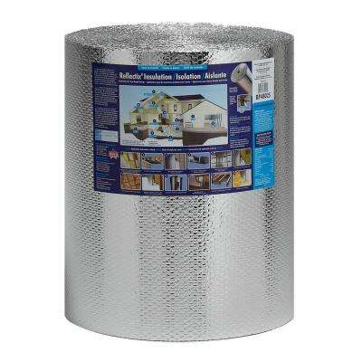 24 in. x 100 ft. Double Reflective Insulation with Staple Tab