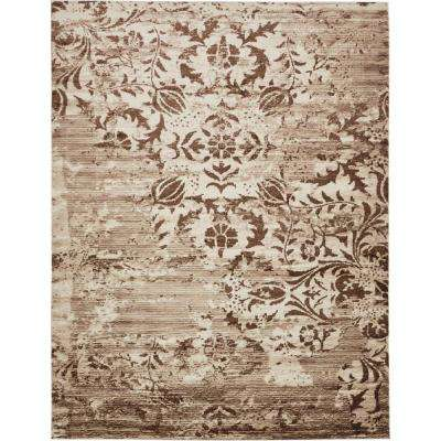 Himalaya Chocolate Brown 10 ft. x 13 ft. Area Rug