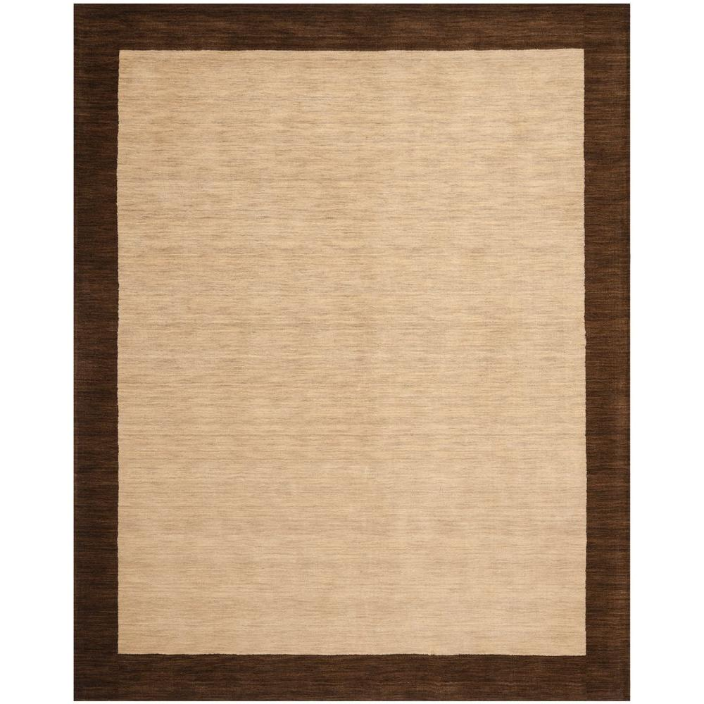 Safavieh Himalaya Beige/Dark Brown 6 ft. x 9 ft. Area Rug