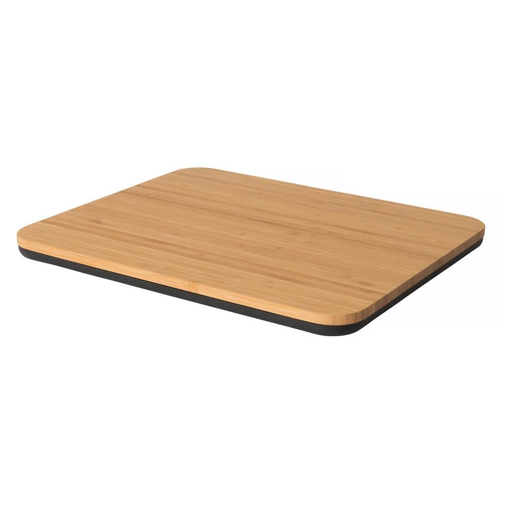 Ron Bamboo 14.25 Inch Rectangular 2-Sided Cutting Board