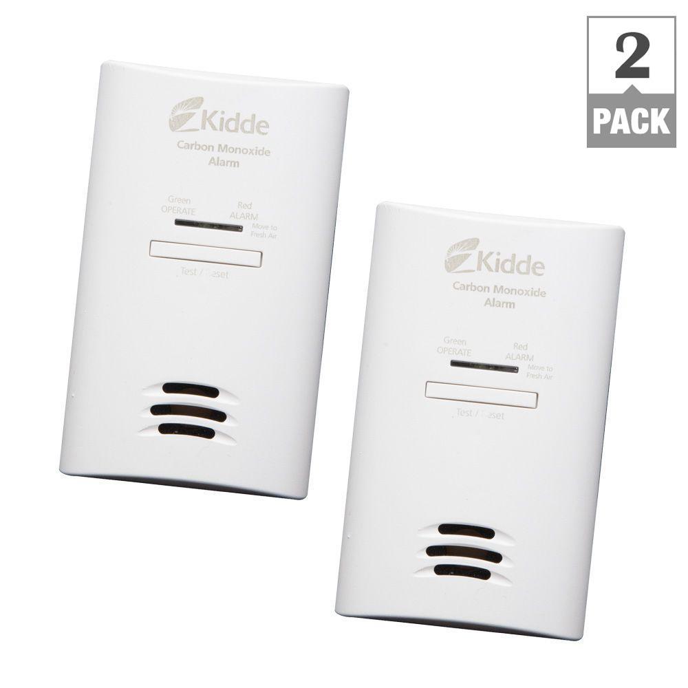AC/DC Carbon Monoxide Alarm with DC Back-Up Tamper Resist Feature (2-Pack per Case)