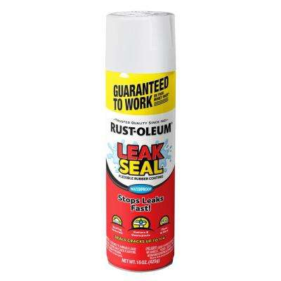 15 oz. LeakSeal White Flexible Rubber Coating Spray Paint